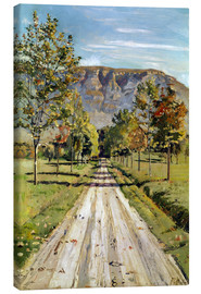 Canvas print  Road to Evordes - Ferdinand Hodler