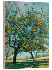 Wood  Paddock with apple trees - Ferdinand Hodler