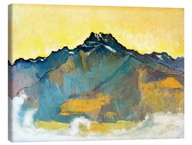 Canvas print  Dents du Midi - Ferdinand Hodler