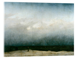 Acrylic print  Monk by the Sea - Caspar David Friedrich