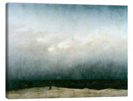 Canvas  Monk by the Sea - Caspar David Friedrich