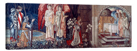 Canvas print  Tapestry, 1890. - Edward Burne-Jones