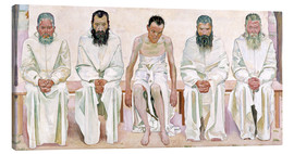Canvas print  Weary of Life - Ferdinand Hodler