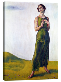 Canvas print  Song from afar - Ferdinand Hodler