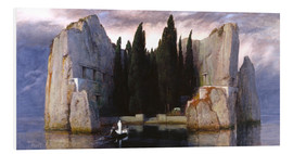 Foam board print  Island of the Dead - Arnold Böcklin