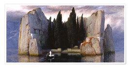 Premium poster  Island of the Dead - Arnold Böcklin