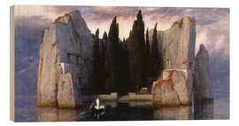 Wood print  Island of the Dead - Arnold Böcklin