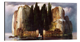 Aluminium print  The Isle of the Dead - Arnold Böcklin