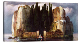 Canvas  The Isle of the Dead - Arnold Böcklin