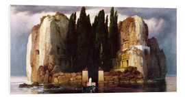 Foam board print  The Isle of the Dead - Arnold Böcklin