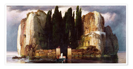 Poster  The Isle of the Dead - Arnold Böcklin