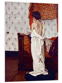 Forex  Getting Dressed - Felix Edouard Vallotton