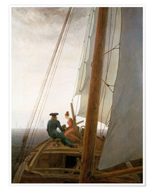 Premium poster On the Sailing ship
