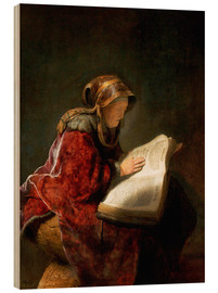 Rembrandt van Rijn - Prophetess Anna or mother