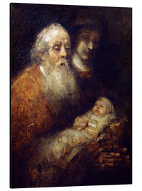 Rembrandt van Rijn - Simeon w.Christ Child