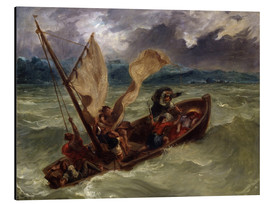 Aluminium print  Jesus on Sea of Galilee - Eugene Delacroix