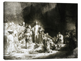 Rembrandt van Rijn - Hundred Guilder Print