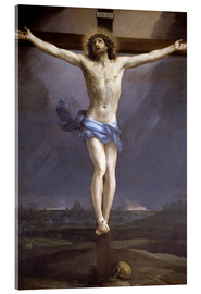 Acrylic glass  Christ on the Cross - Guido Reni
