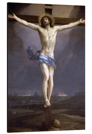 Aluminium print  Christ on the Cross - Guido Reni