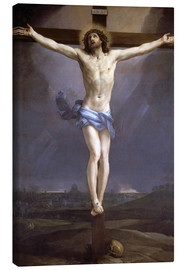 Canvas print  Christ on the Cross - Guido Reni