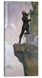 Canvas print  Ascent III - Ferdinand Hodler