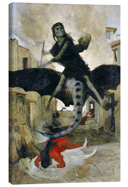 Canvas print  The Plague - Arnold Böcklin