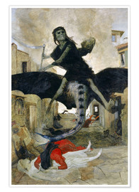 Premium poster  The Plague - Arnold Böcklin