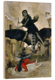 Wood  The Plague - Arnold Böcklin