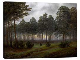 Canvas print  Evening - Caspar David Friedrich