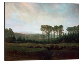 Aluminium print  Afternoon - Caspar David Friedrich