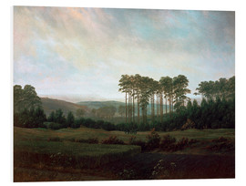 Foam board print  Afternoon - Caspar David Friedrich