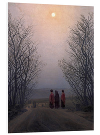 Foam board print  Easter morning - Caspar David Friedrich