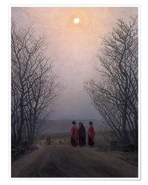 Premium poster  Easter morning - Caspar David Friedrich