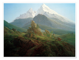 Premium poster The Watzmann