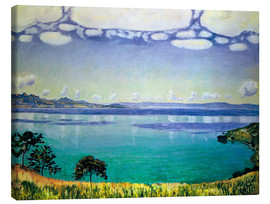 Canvas print  Lake Geneva from Chexbres - Ferdinand Hodler