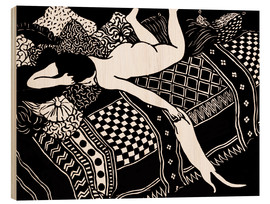 Wood print  Woodcut - Felix Edouard Vallotton