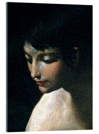 Acrylic print  Heavenly and earthly love (detail) - Guido Reni