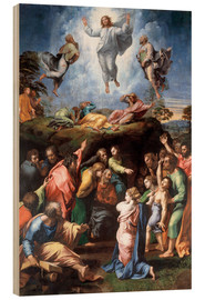 Wood print  The Transfiguration - Raffael