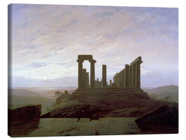 Canvas  Juno Temple Agrigent - Caspar David Friedrich