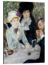 Alu-Dibond  After dinner - Pierre-Auguste Renoir