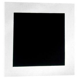 Acrylic glass  Black Square - Kasimir Sewerinowitsch  Malewitsch