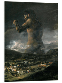 Acrylic glass  The Colossus - Francisco José de Goya