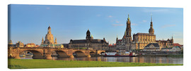 Canvas print  Dresden Canaletto view - Fine Art Images