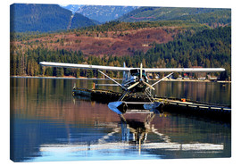 Canvas  Seaplane in Purpoise Bay, Canada - HADYPHOTO by Hady Khandani