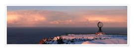 Premium poster  North Cape - Panorama - HADYPHOTO by Hady Khandani