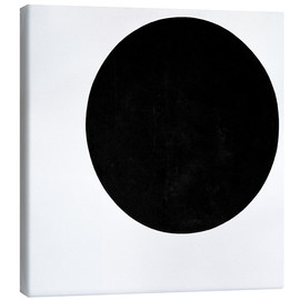 Canvas print  Black circle - Kasimir Sewerinowitsch  Malewitsch