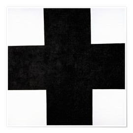 Premium poster Black Cross