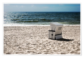 Premium poster  Beach chair 117 - Hannes Cmarits