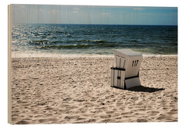 Wood  Beach chair 117 - Hannes Cmarits