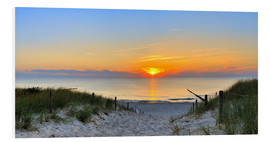 Forex  Sunset Panoramic at the beach - Fine Art Images